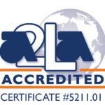 A2LA Accredited Symbol 5211.01